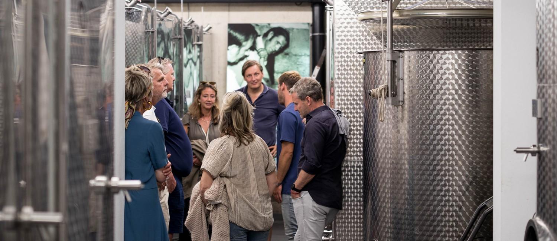 Ontdek de wijngaard van de Apostelhoeve op een persoonlijk niveau